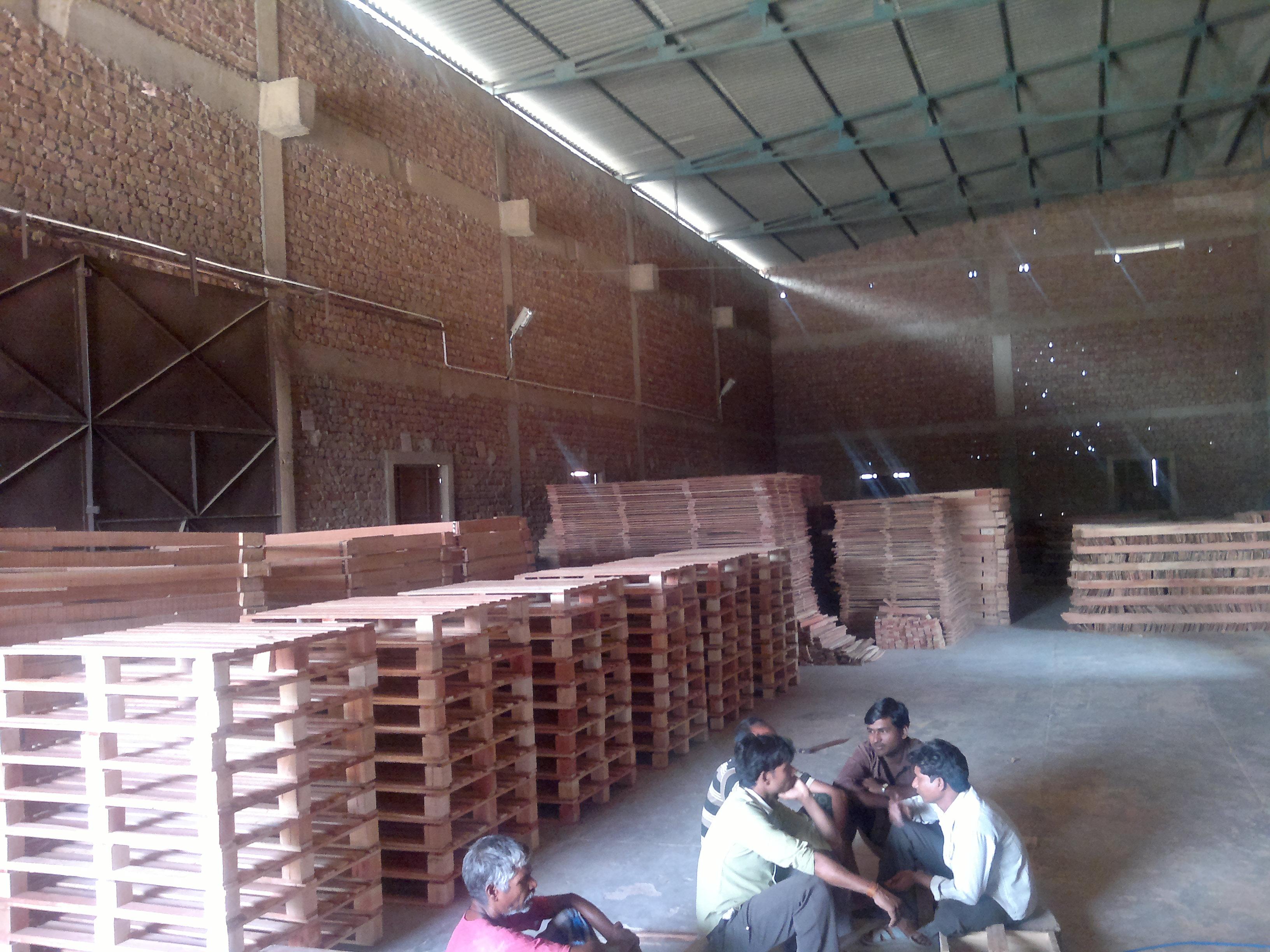pallet manufacuturing facility in bhiwadi