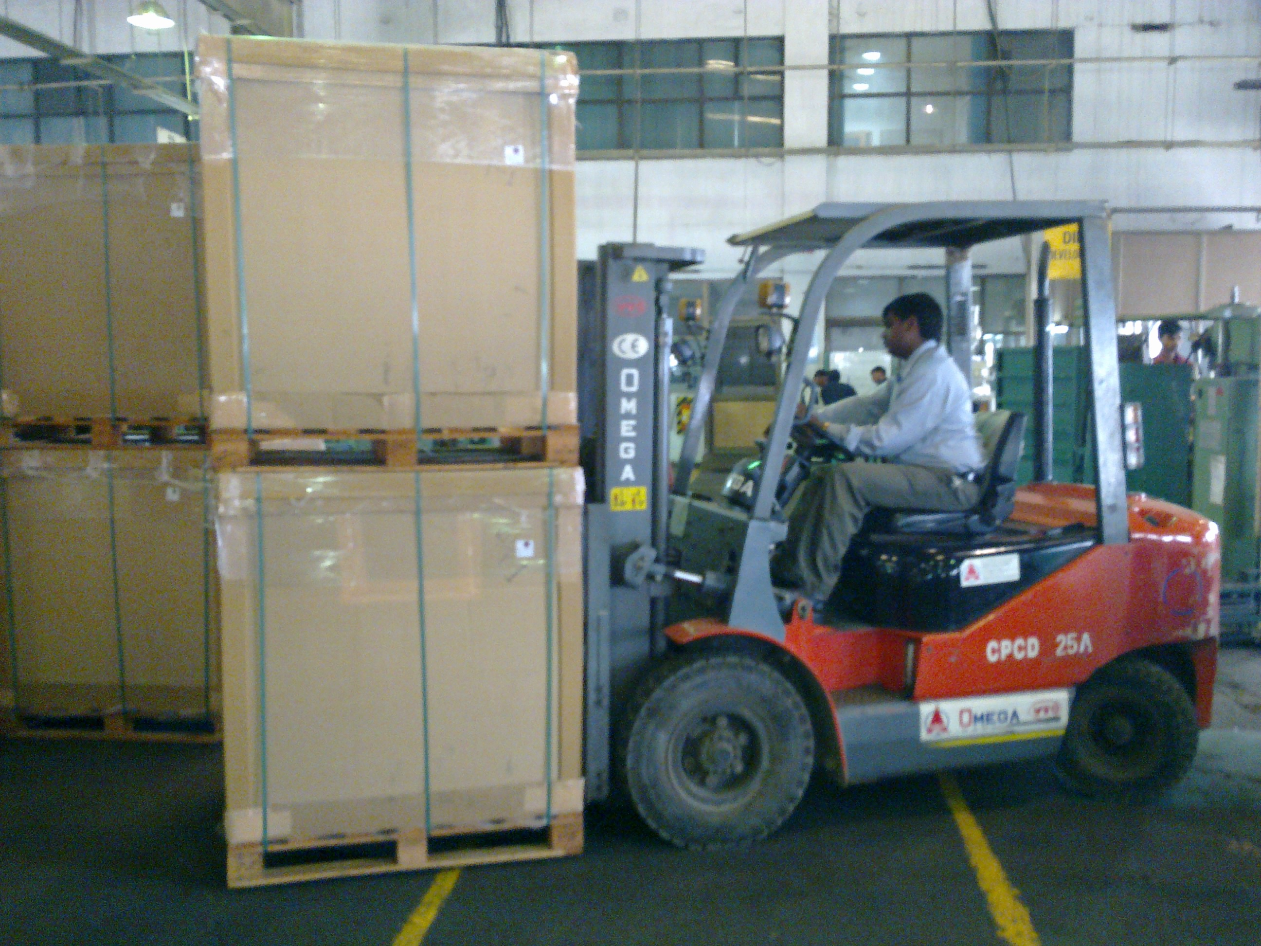 packaging operation in manesar
