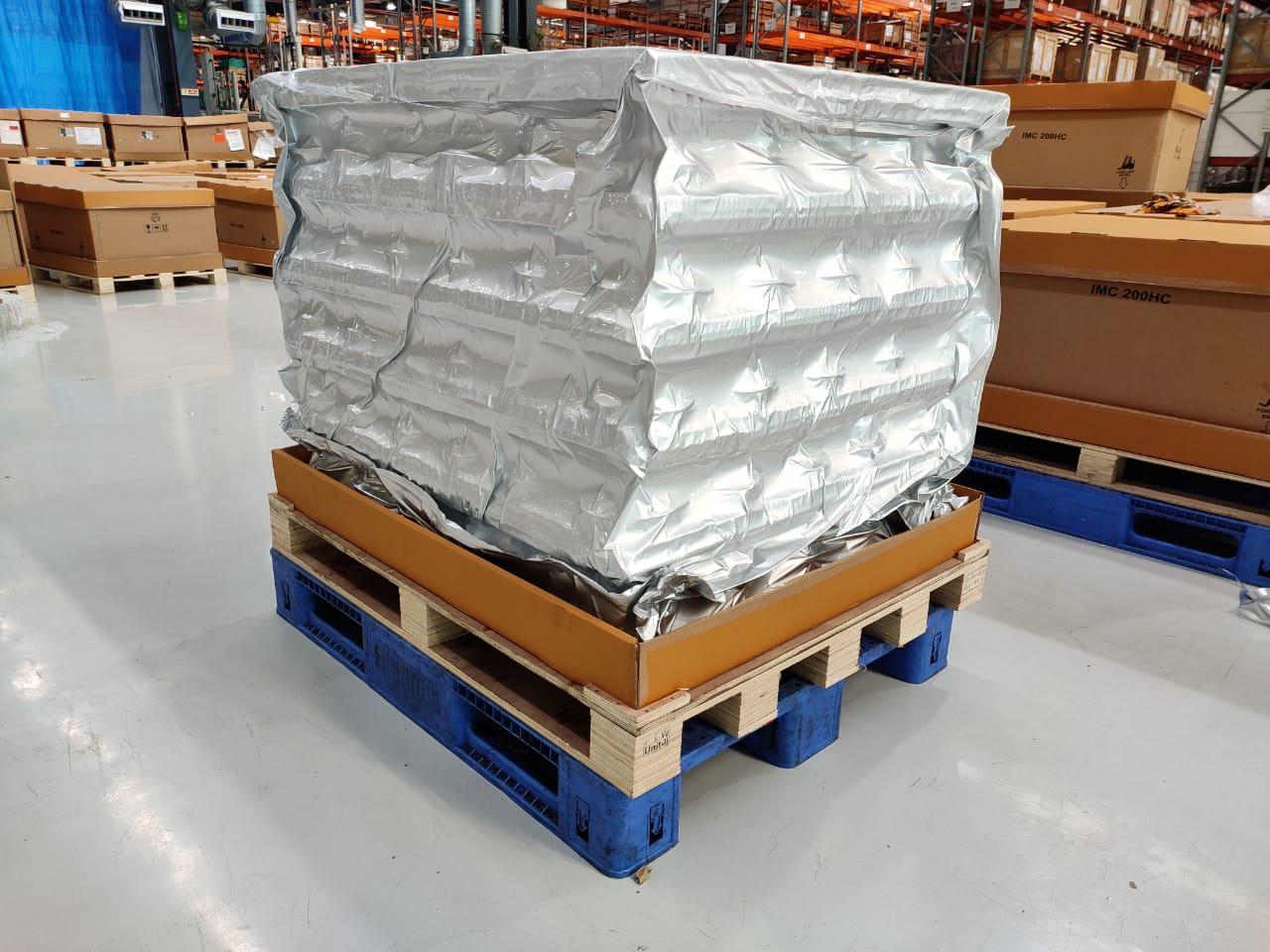 Aluminium foil barrier bags