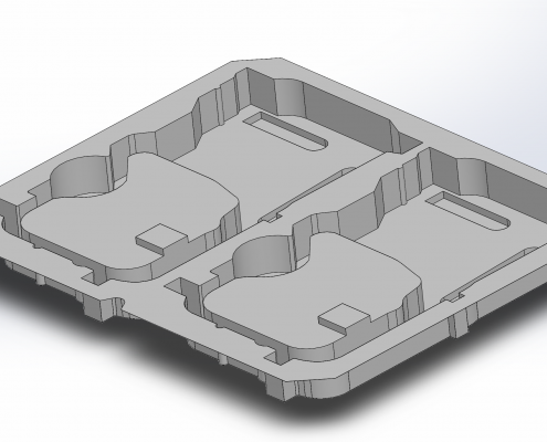 Thermoform tray-xpertpack